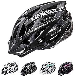 51V0eJsj5LL. SS300 Meteor Casco Bici per Giovani e Adulti Donna e Uomo Caschi Perfetto per Ciclismo MTB Scooter Helmet per Tutte Le Forme…