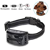 REXWAY Automatic No Bark Dog Collar, Safe Shock/Vibration Selectable...