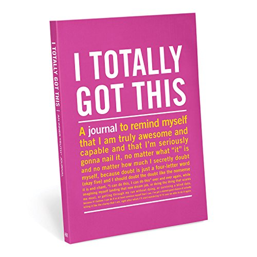 Knock Knock I Totally Got This Inner-Truth Journal (Large, 7 x 9.5-inches)