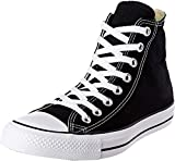 Converse Chuck Taylor All Star High Top Sneaker, Black, 8.5 Women/6.5 Men