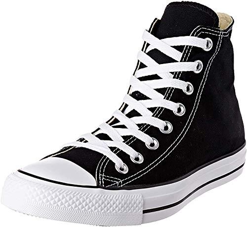 Converse Unisex Chuck Taylor All Star Hi Hohe Sneaker, Schwarz M9160 Schwarz, 42 EU