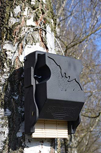 Naturschutzprodukt Fledermaus-Grossraum-Flachkasten 3FF mit Inspektionsluke