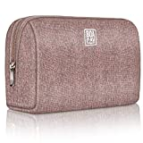 Cosmetic & Makeup Bag, Zippered Makeup Pouch for Women & Girls, Travel Cute Organizer Suitable for Purse, Versatile Bag with Multiple Compartments for Makeup, Toiletries, Pencils, Accessories