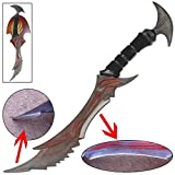 MedievalDepot Demon Daedric Warrior Quest Role Play Dagger Full Size Replica