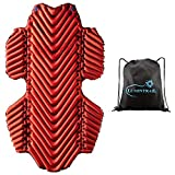 Klymit Insulated Hammock V Sleeping Pad Bundle with a Lumintrail Drawstring Bag