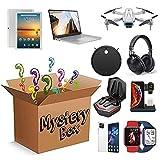 Mystery Box Electronics, Secret Box Viene con un teléfono móvil, Tableta, Drone, Reloj Inteligente, cámara, cámara y Puede Abrir Todas Las Cosas posibles