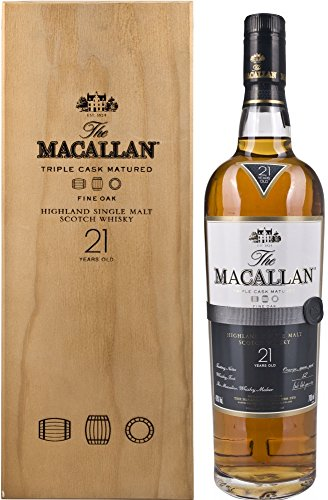 Macallan Fine Oak 21 Years Old in Holzkiste  Whisky (0,7 L)