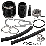 Transom Seal Repair Kit for Mercruiser Alpha One 1 Gen 1 w/Exhaust Bellows Gimbal Bearing ...