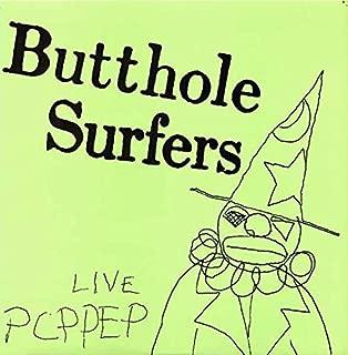 BUTTHOLE SURFERS LIVE PCPPEP vinyl record