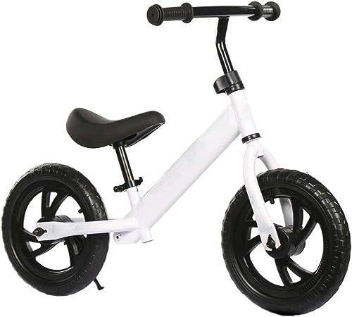 BOHENG Voiture d'équilibre d'enfants, Bicyclette de pédalage, Bicyclette concurrencravatelle, Voiture de GlisseHommest de bébé de 2-6 Ans, marchette à Deux Roues, capacité d'équilibre de bébé d'exercice