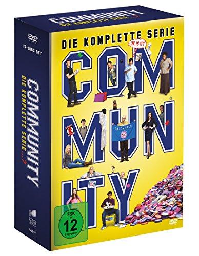 Community - Die komplette Serie (17 Discs) [DVD]
