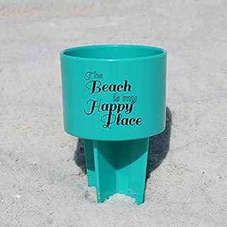 Pack of 4 - Spiker Beach Sand Coaster Cup Holder -