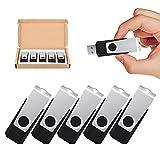 TOPESEL 5 Pack 32GB USB 3.0 Flash Drive Memory Stick Thumb Drives...
