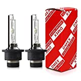 DMEX D2S - 35W - 4300K Warm White Xenon Headlight HID Bulbs 66240 66040 85122 Replacement - Pack of 2