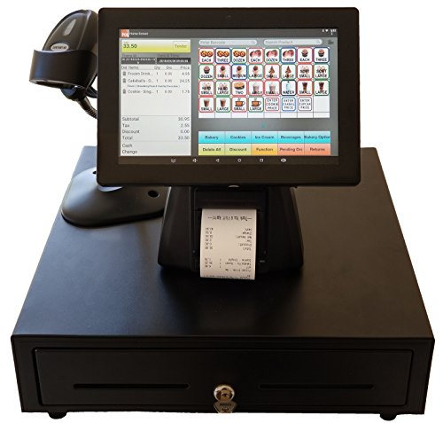POS Retail Point of Sale System Includes a Commercial Grade 10 Inch Touch Screen...