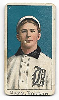 1909-11 T206 Baseball Billy Nattress Piedmont 350 Factory 25 Back Poor Condition