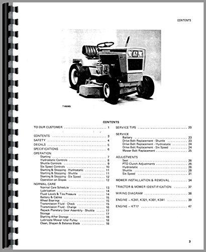 Allis Chalmers 910 Lawn/Garden Operators Manual