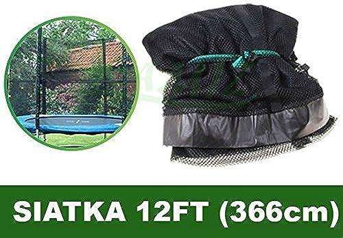 Grille de trampoline 12FT - 6 Boîtes noires