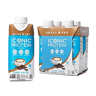Iconic Grass Fed Protein Drinks
