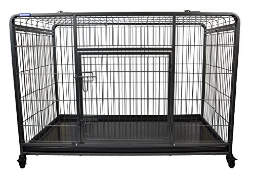 The Pet Store Premium Dog Crate with Lockable & Removable Nylon Wheels