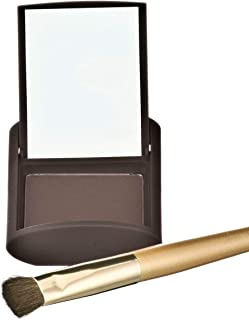 Joan Rivers Great Hair Day Fill-In Powder - Root Cover Up for Thinning Hair - Thicker and Fuller Hair (Brunette)