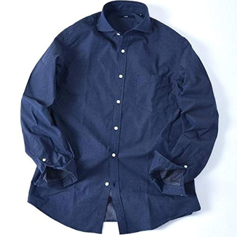 シップス(メンズ)(SHIPS) SC: ドビー ドット セミワイドカラー シャツ