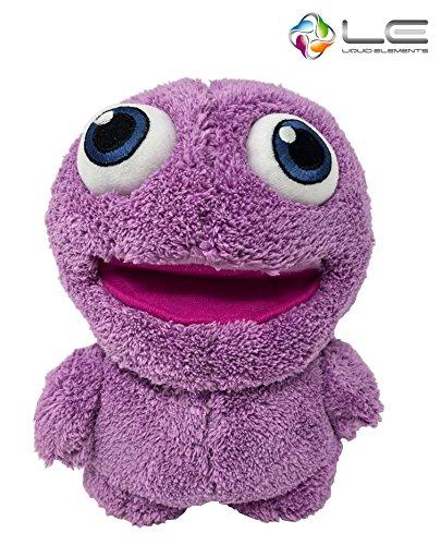 Liquid Elements Purple Monster Plüschtier, Kuscheltier