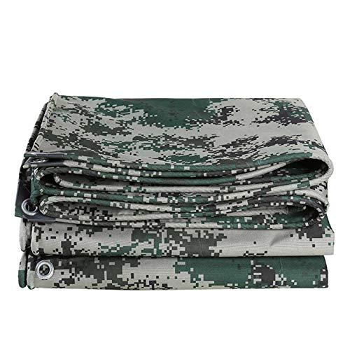 GHHZZQ Cubierta de Lona Impermeable Refuerzo de Cuatro Esquinas Durable for Al Aire Libre Cámping Granja Lona Alquitranada, 3 Colores (Color : B, Size : 10x12m)