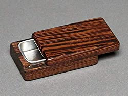 handmade pill box ~ wooden pill case