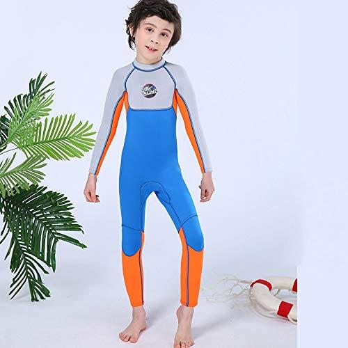 Chicos 2.5mm Traje de niños de los niños de buceo traje de una pieza del traje de baño de Childs Acuáticos Ropa Trajes de buceo con Niños Invierno Primavera Verano Protección UV medusas ropa de neopre