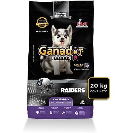 Ganador Premium Cachorro 20 kg, Razas Medianas y Grandes. El empaque puede variar