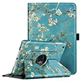 Fintie Rotating Case for iPad Mini 3/2 / 1-360 Degree Rotating Smart Stand Protective Cover with Auto Sleep/Wake for iPad Mini 1 / iPad Mini 2 / iPad Mini 3, Blossom