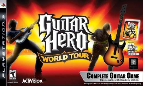 PS3 Guitar Hero World Tour Guitar Kit