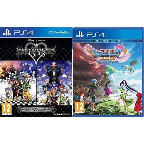 Kingdom Hearts HD 1.5 + 2.5 Remix & Dragon Quest XI : Ecos de un Pasado Perdido Edition of Light
