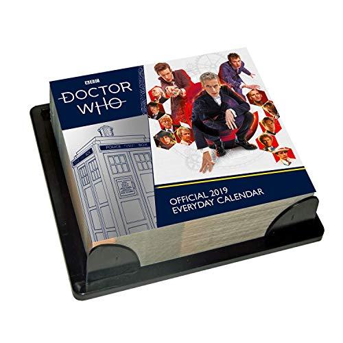 Doctor Who - Desk Block 2019 Calendar