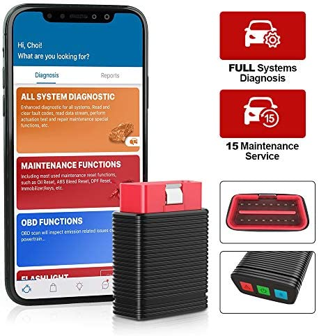 thinkcar Pro Bluetooth OBD2 Scanner Full System Scan Tool with 15 Reset Service IMMO Auto VIN product image