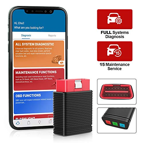 thinkcar Pro Bluetooth OBD2 Scanner, Full System Scan Tool with 15 Reset...