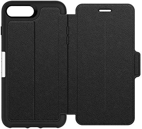 OtterBox Strada Series Premium Leather Folio Case for iPhone 7 Plus 8 Plus Black product image