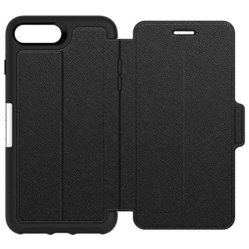 OtterBox per Apple iPhone 8 Plus 7 Plus, Custodia Folio resistente a cadute in pelle alta qualità, Gamma Strada, Nero