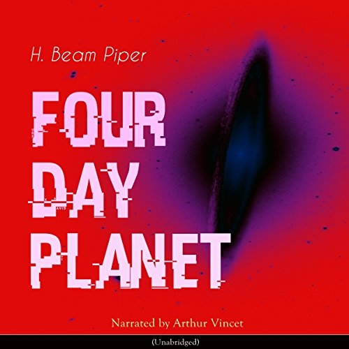 Four Day Planet audiobook cover art
