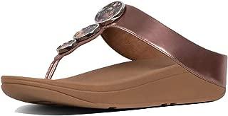 Halo Toe Thong Womens Sandals Black