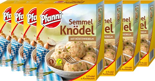 Pfanni Semmelknödel mit Röstzwiebeln, 7er-Pack (7 x 200 g)