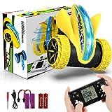joylink Coche Teledirigido, 4WD 2.4GHz Stunt RC Coche Acrobacia Rotación Volteo de 360 ° Coche de Control Remoto Juguetes Control Remoto con 9 Tipos de Divertido Juego Regalo para Niños