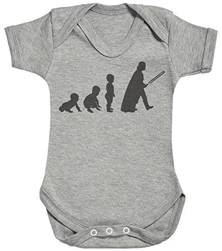 Baby Evolution to A Vader Body bébé - Gilet bébé - Body bébé Ensemble-Cadeau - Naissance Gris