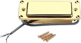 Milisten 2Pcs Humbucker Pickup Ring Frame Anneau de Montage pour Guitares /Électriques Gb301 Or