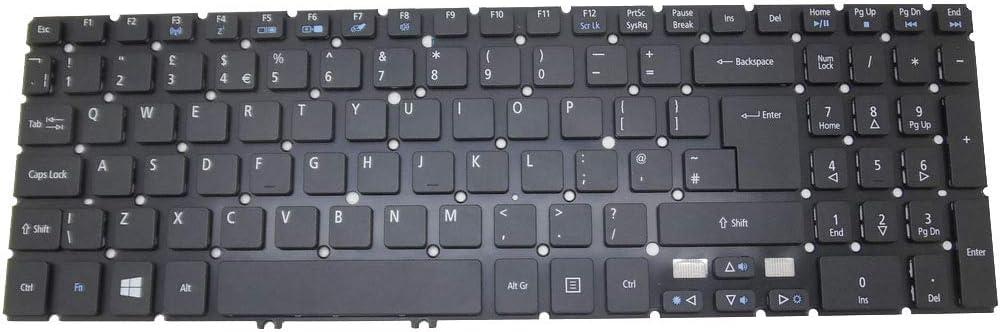 Laptop Keyboard for ACER Aspire M3-581G M3-581PT M3-581PTG M3-581T M3-581TG M5-581G M5-581TG V5-551 V5-551G V5-571 V5-531 TravelMate P276-M P276-MG United Kingdom UK NO Frame