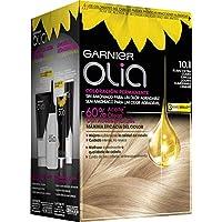 Garnier Olia coloración permanente sin amoniaco para un olor agradable con aceites florales de origen natural - Rubio Extra Claro Ceniza 10.1