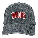 DEMT Baseball Cap Woods Man & Woman Retro Adjustable Leisure Cap Dad Trucker Hat