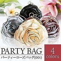 パーティーローズバッグ (001) (レディース ハンドバッグ フォーマル 薔薇) ゴールド