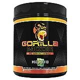 Gorilla Mode Pre Workout - Massive Pumps · Laser Focus · Energy · Power - L-Citrulline, Creatine, GlycerPump™, L-Tyrosine, Agmatine, Kanna, N-Phenethyl Dimethylamine Citrate - 596 Grams (Mojo Mojito)